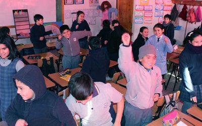 Programa Súper sano fomentando hábitos de alimentación saludable en estudiantes de la región