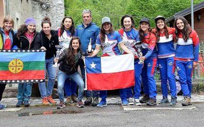 Rancagüinas obtienen el tercer lugar en el mundial de Rafting