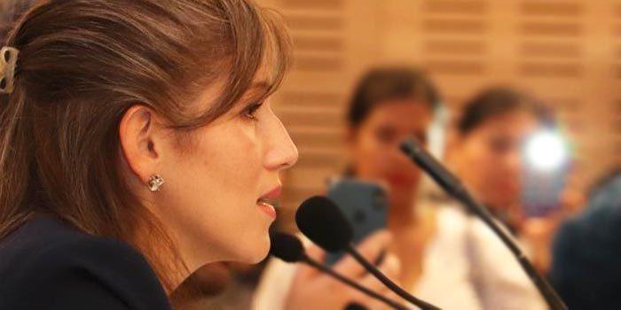 Representante diplomática de Juan Guaidó visitó Rancagua