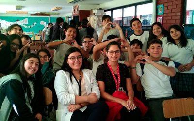 Salud Machalí realiza charla de educación sexual responsable a estudiantes del Colegio San Francisco