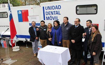 Salud OHiggins entregó unidades móviles para atención odontológica