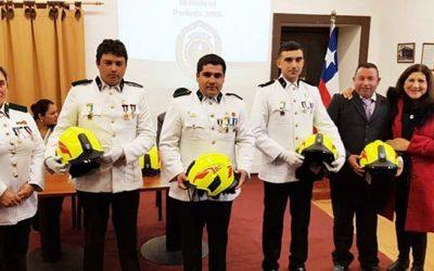 Segunda compañía de bomberos de El Huique celebró su 22 aniversario