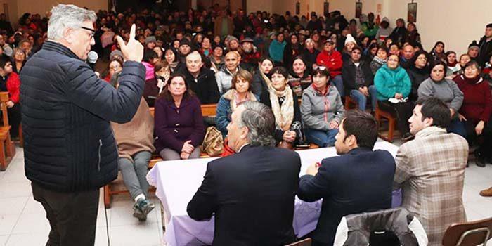 Autoridades se reúnen para buscar solución definitiva a Población Baltazar Castro