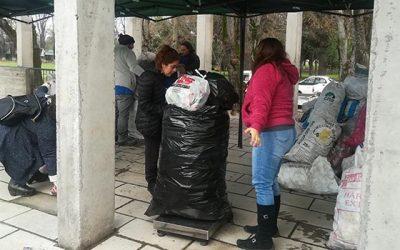 Campaña de reciclaje en Nancagua permite recolectar más de 380 kilos de latas