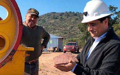 Canteros de Placilla potencian su productividad con recursos de la seremi de Minería