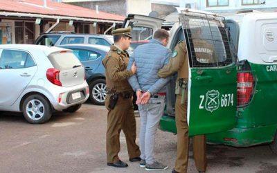 Carabineros detiene a prófugo de la justicia con amplio prontuario policial