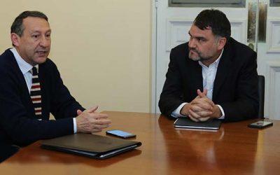 Diputado Macaya y alcalde Urrutia gestionan recursos para Machalí y MuRO'H