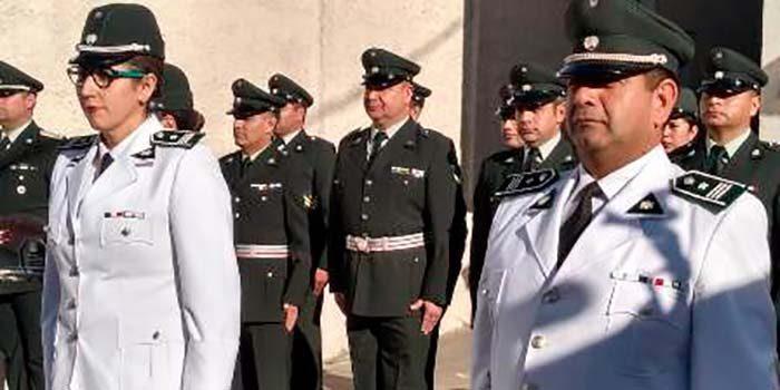 Director regional de Gendarmería de Chile destaca a la única suboficial mayor de la región en el Día Suboficial Mayor