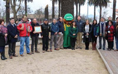 En Colchagua se realizó el lanzamiento regional de programa de arborización de la Conaf