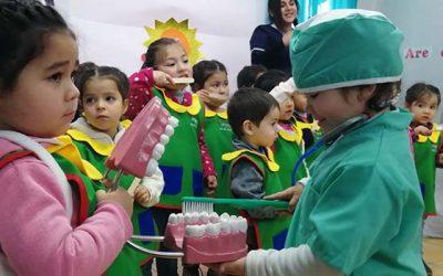 En Machalí seremi de Salud potencia la Salud Bucal en jardín infantil de Fundación Integra