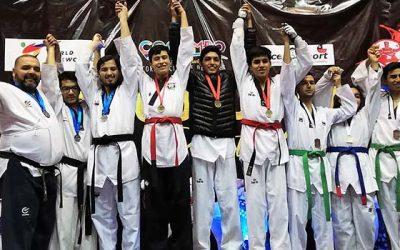 Escuela de taekwondo de Rancagua obtuvo destacada participación en torneo nacional en Coquimbo