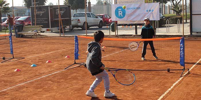 Escuelas municipales de Rancagua y renca participaron en interescuelas de tenis