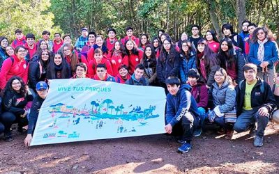 Estudiantes del Colegio Niño Jesús de Praga realizaron visita educativa al Cerro Poqui de Coltauco