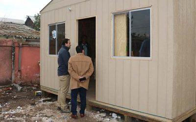 Familias de Chimbarongo reciben viviendas de emergencia