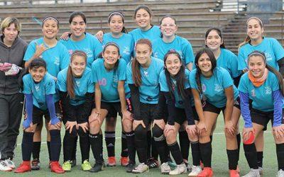 La escuela de fútbol femenino de Rancagua se consagró campeona en Graneros