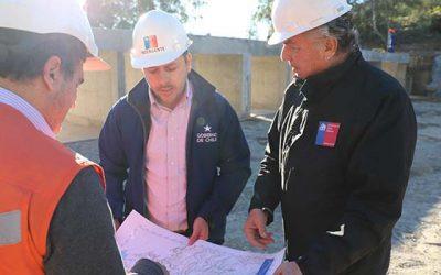 Lolol: Intendente inspecciona obras en tranque que permitirá regar 4 mil hectáreas con aguas de Convento Viejo