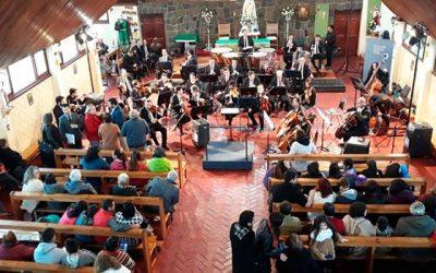Magnífica presentación realizó la Orquesta de Cámara de Chile en Coltauco