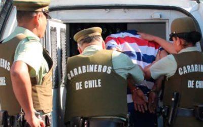 Más de 180 detenidos deja ronda extraordinaria realizada por carabineros en la Región