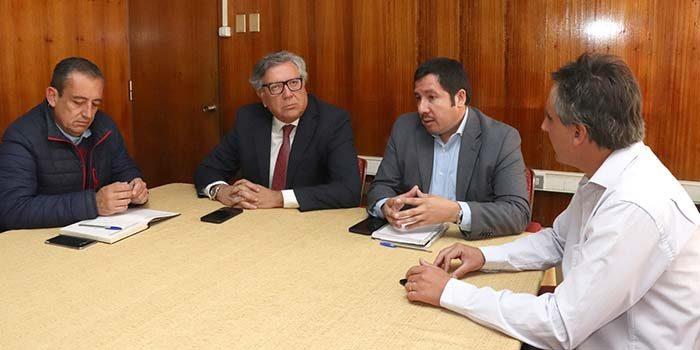Mesa de conectividad levantará información relevante para planificar diseño del transporte público de Rancagua