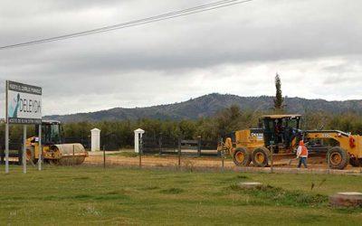 MOP OHiggins genera positivo impacto con inicio de obras de pavimentación rural en Pumanque