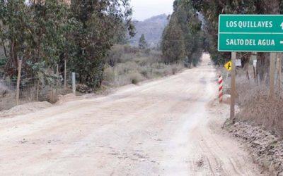 MOP O'Higgins inicia obras en camino Los Quillayes, una de las localidades más aisladas de la región