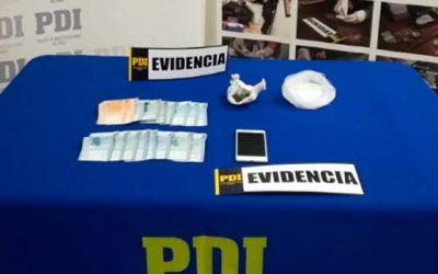 PDI efectúa incautación de drogas tras investigación de robo con violencia