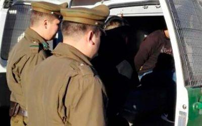 Por tráfico de drogas fueron detenidos tres sujetos en Rancagua