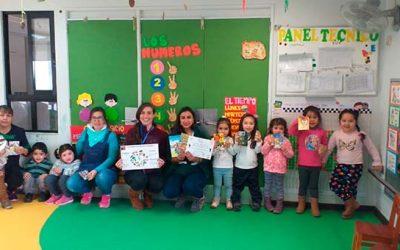 Salud Machalí incentiva estilos de vida saludables en preescolares de la comuna