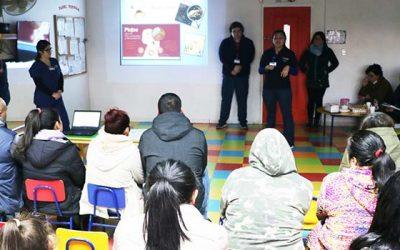 Salud Machalí orienta a padres y apoderados del jardín infantil en hábitos de higiene