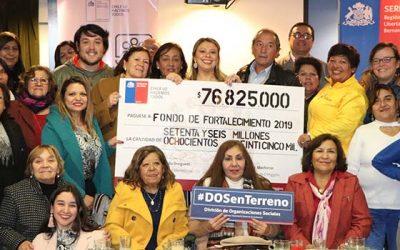 Seremi de Gobierno realiza entrega simbólica de Fondos de Fortalecimiento a organizaciones de Cardenal Caro y Cachapoal