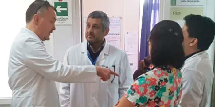 Servicio de Salud visita hospitales de Microárea de Santa Cruz por campaña invierno