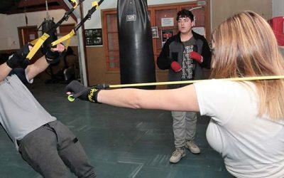 Taller gratuito de boxeo para damas y varones