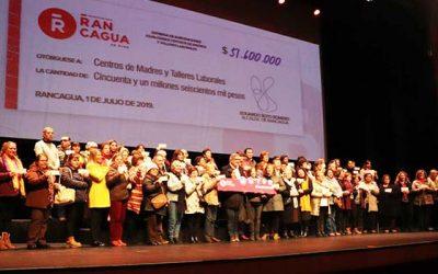 Talleres laborales y centros de madres recibieron subvención municipal