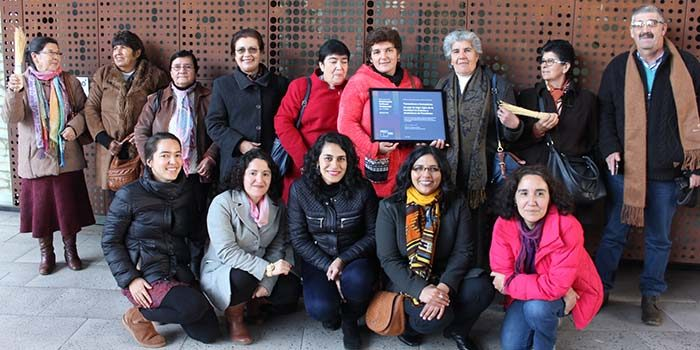 Trenzadoras y Trenzadores de paja de trigo de ligún, y otras seis expresiones culturales ingresan al Registro de Patrimonio Inmaterial en Chile