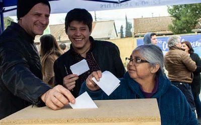 Vecinos de San Vicente reciben al programa Quiero mi barrio del Minvu