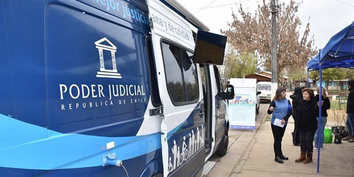 Bus de la justicia atendió a la comunidad de pueblo de Indios de San Vicente