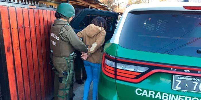 Carabineros detuvo a tres sujetos por microtráfico de drogas