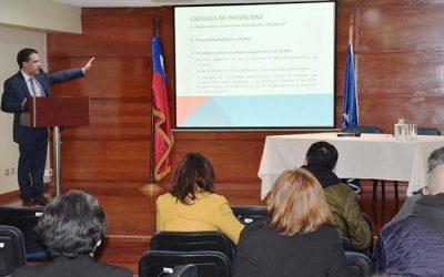 Corte de Apelaciones de Rancagua realizó taller de periodismo judicial