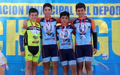 Cuatro deportistas clasifican en Pichidegua a la selección regional de ciclismo