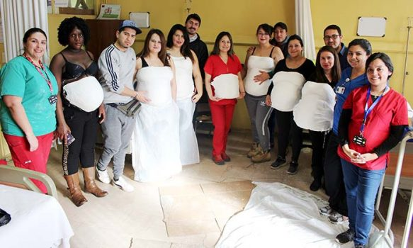 Culminaron las actividades pro-lactancia materna en Hospital San Fernando