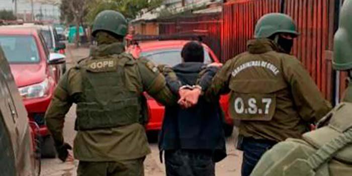 Detienen a conocidos traficantes de la población Diego Portales