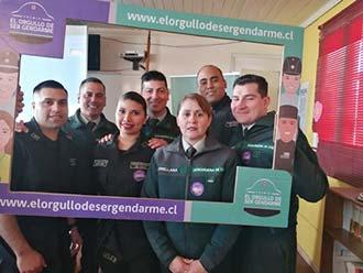 Directora regional(s) lanzó campaña del concurso El Orgullo de Ser Gendarme