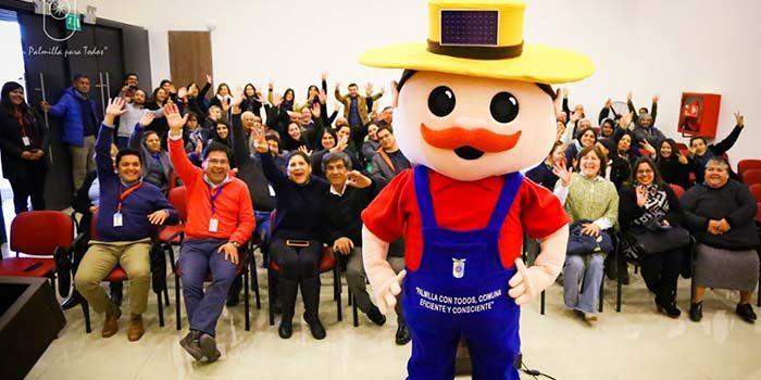 """""""Don eficiencio"""" dio inicio a jornadas de eficiencia energética en Palmilla"""