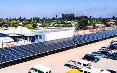 Energía solar fotovoltaica en colegios y empresas de la Sexta región
