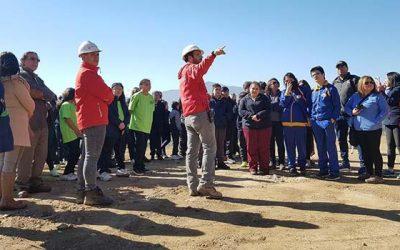 Estudiantes de Rancagua visitaron el relleno sanitario