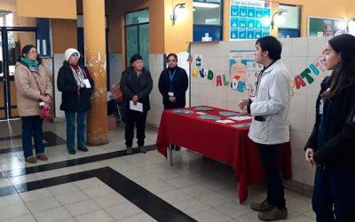 Hospital de Graneros conmemoró el Día Mundial de la Hepatitis