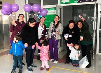 Hospital de Santa Cruz celebra semana de lactancia materna