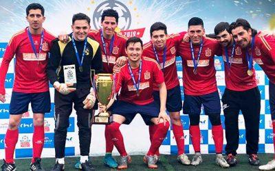 Icil Icafal gana la final Fútbol Maestro en Rancagua