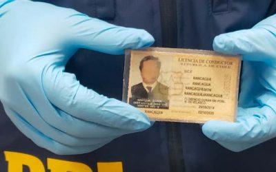 Intentó sacar permiso de circulación falsificado por Internet