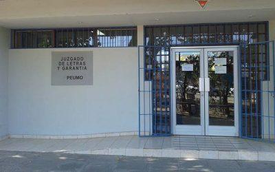 Juzgado de letras, garantía y familia de Peumo entregará cuenta pública de su gestión